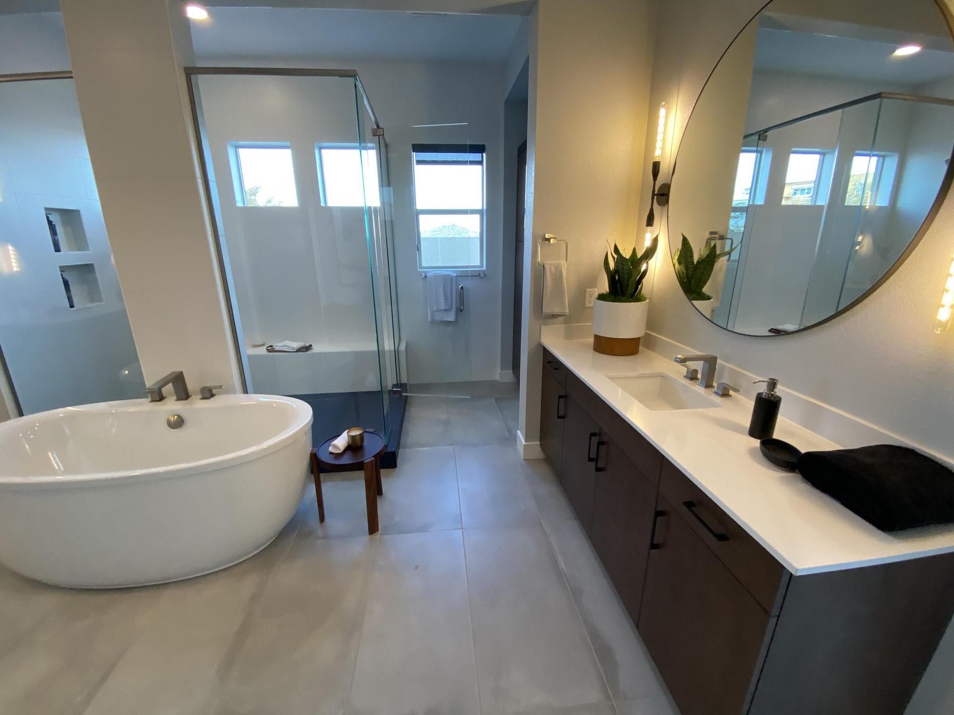 Bathroom Renovation Remodeling Services In Las Vegas Titon General Contractors
