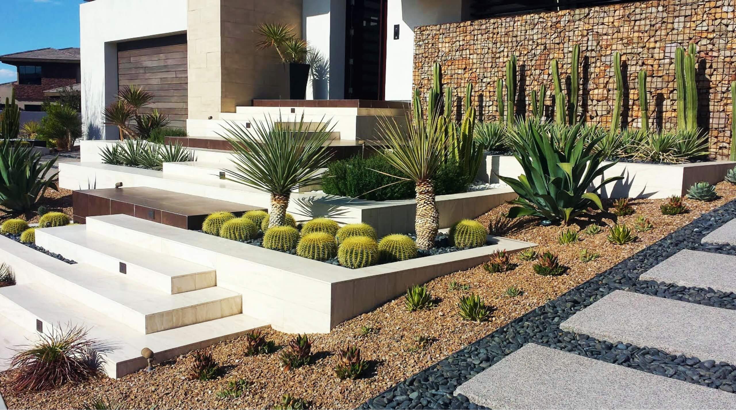 Landscape design & construction for commercial & residential properties in Las Vegas